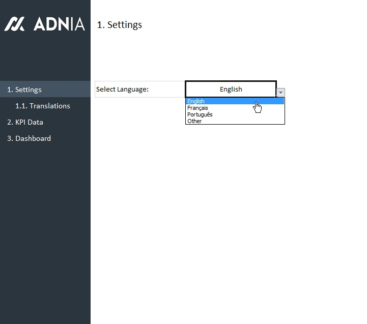 Hr Recruitment Dashboard Template  Adnia Solutions