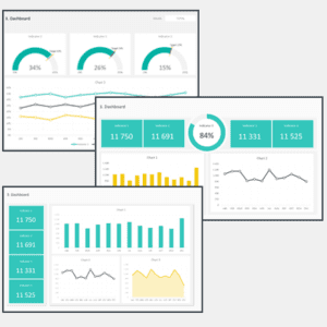 Dashboard Design Layout Template Cover