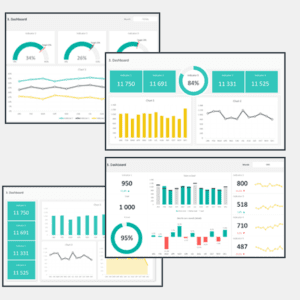 Dashboard Design Layout Template Cover 3