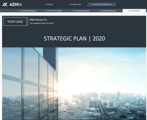 Strategic Plan Template - Strategic Plan Presentation