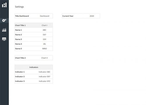 01 Settings - Excel Dashboard Design Duo Theme 3