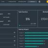 06 Work Plan Template Excel - Work Plan Dark Dashboard