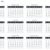 Free Annual Calendar Excel Template