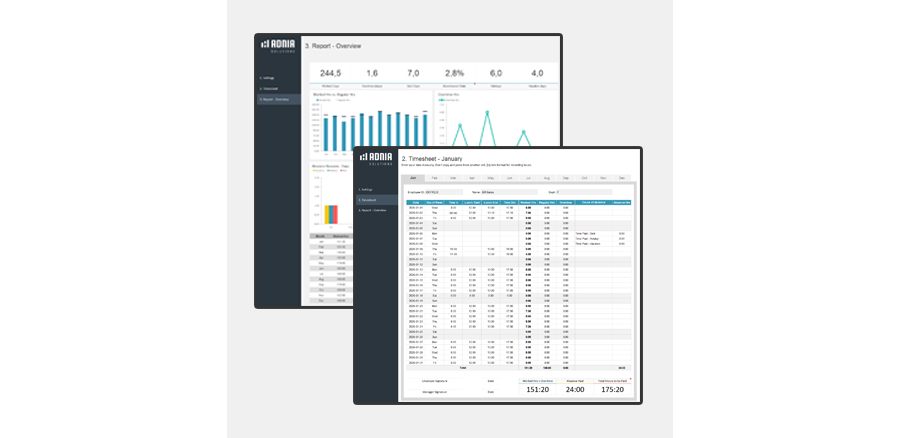 Demo - Excel Timesheet Template